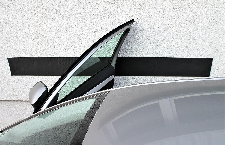 Kantenschutz f/ür Autot/üren T/ürkantenschoner f/ür Garagenwand selbstklebend inkl Garagenprotector T/ürschutz 200x20 cm 4 Haft-Klebestreifen