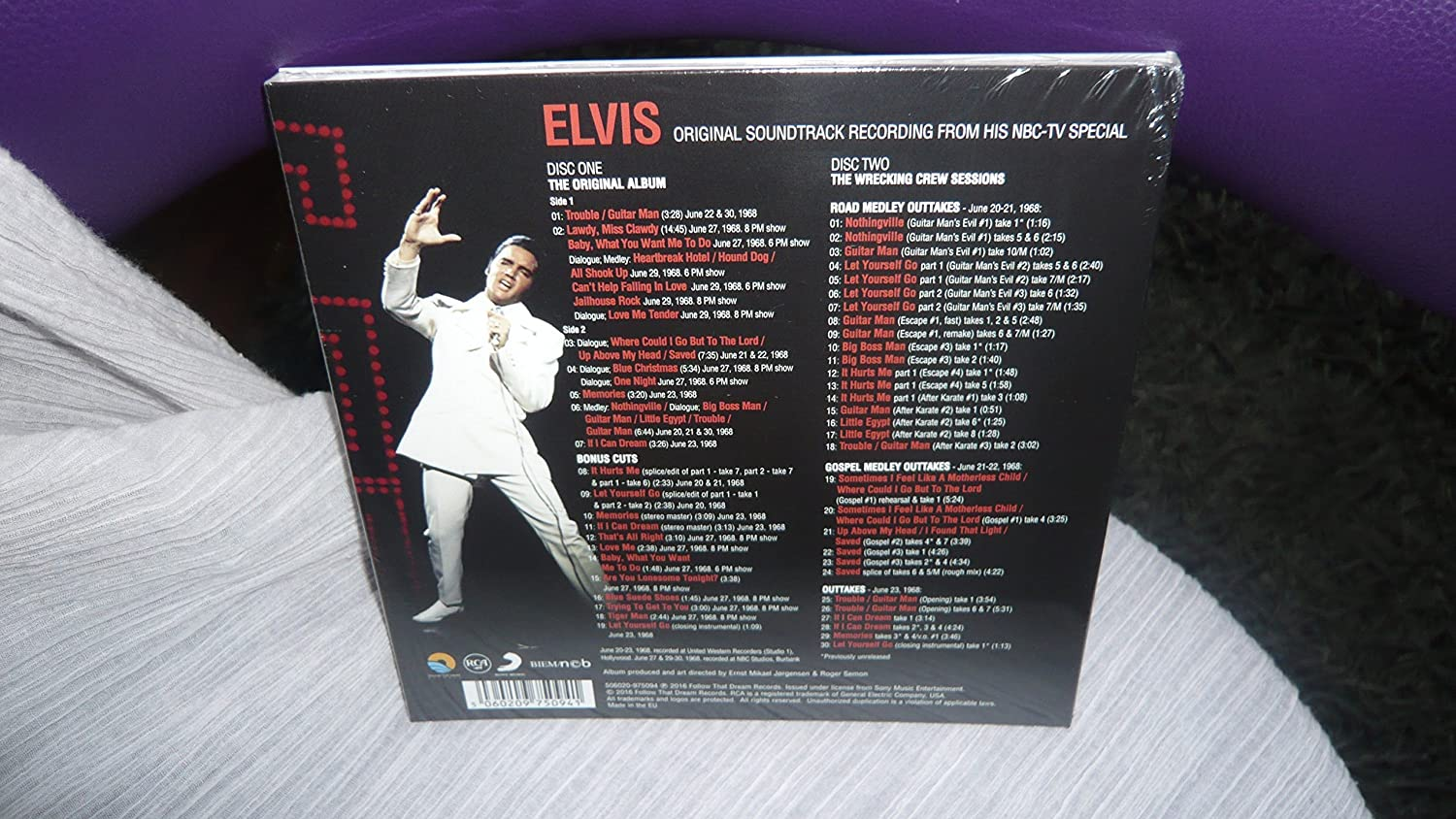 'ELVIS The Original Soundtrack From NBC-TV Special' FTD Follow That Dream