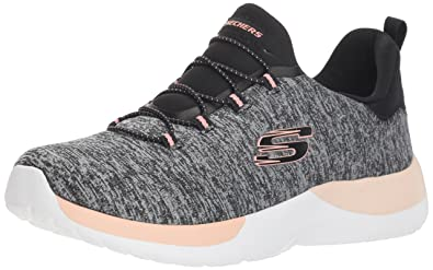 01af922f901 Skechers Women's Dynamight-Breakthrough Black/Coral Sneakers-3 UK/India (36