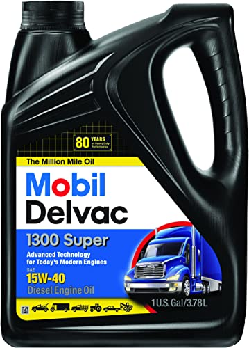 Mobil Super 96819 15W-40 Delvac 1300 Motor Oil
