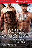 Blair's Lost and Found Men [Men of Montana 15] (Siren Publishing Menage Amour)