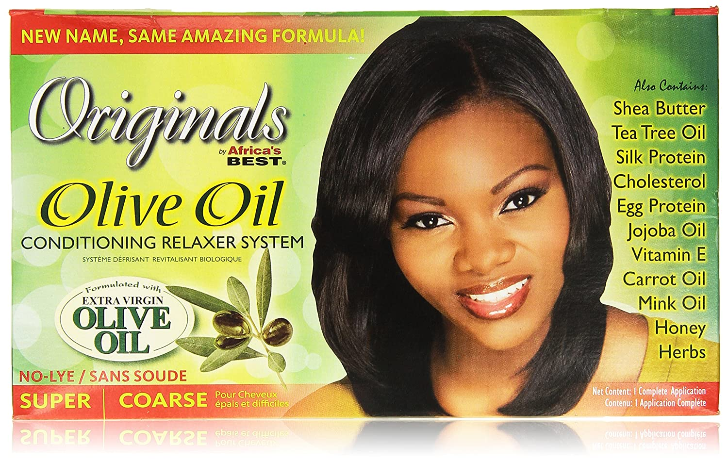 Amazon.com: Africas Best Organics Organic Conditioning Relaxer System, for Coarse Resistant Hair, No-Lye, Super: Beauty