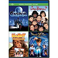 Casper / The Little Rascals / Harry and the Hendersons / Nanny McPhee Four Feature Films [DVD]