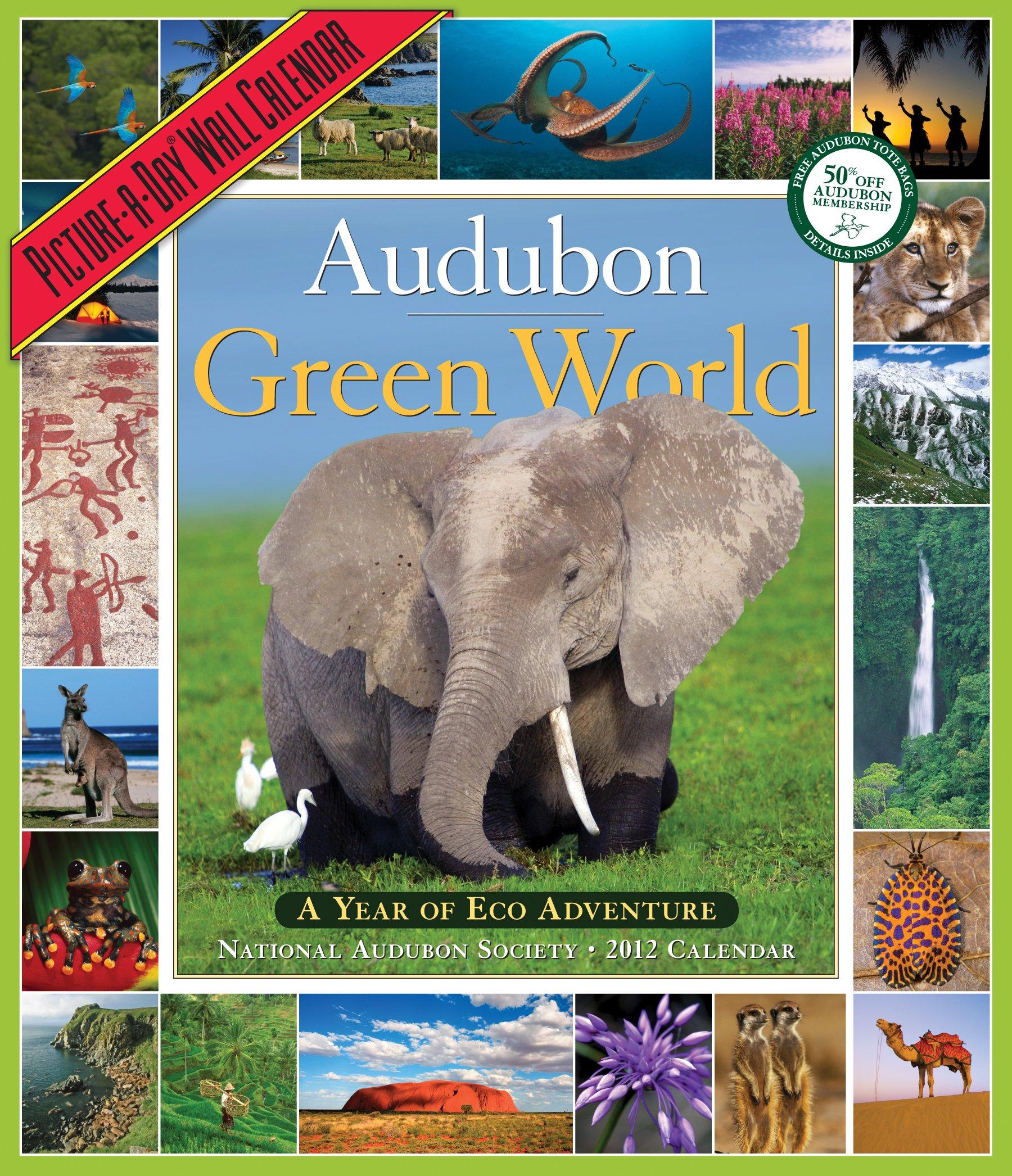 Audubon Green World Calendar Picture product image
