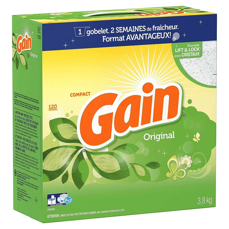 Amazon Gain HEC Ultra Powder Detergent Original Scent 120