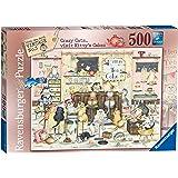 Ravensburger Linda Jane Smith Vintage No.5 - Crazy Cats Kitty's Cakes 500pc Jigsaw Puzzle