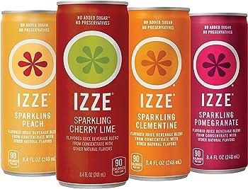 24-Pack of 8.4-Oz IZZE Sparkling Juice (Sunset Variety Pack)