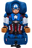 KidsEmbrace Combination Toddler Harness Booster Car Seat, Marvel's Avengers Captain America
