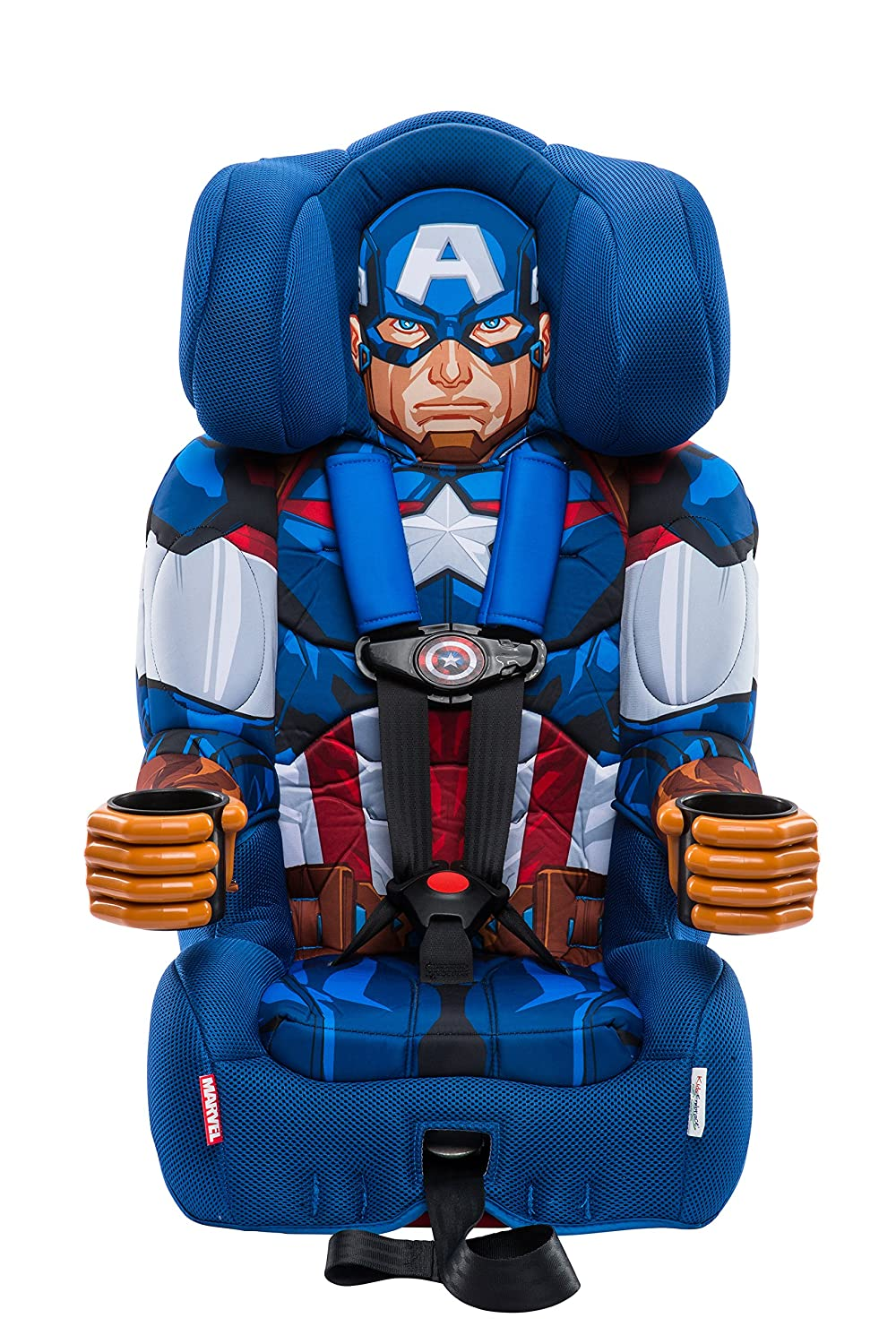 KidsEmbrace Friendship Combination Booster-Captain America, Blue, Red 3001CAPCAN