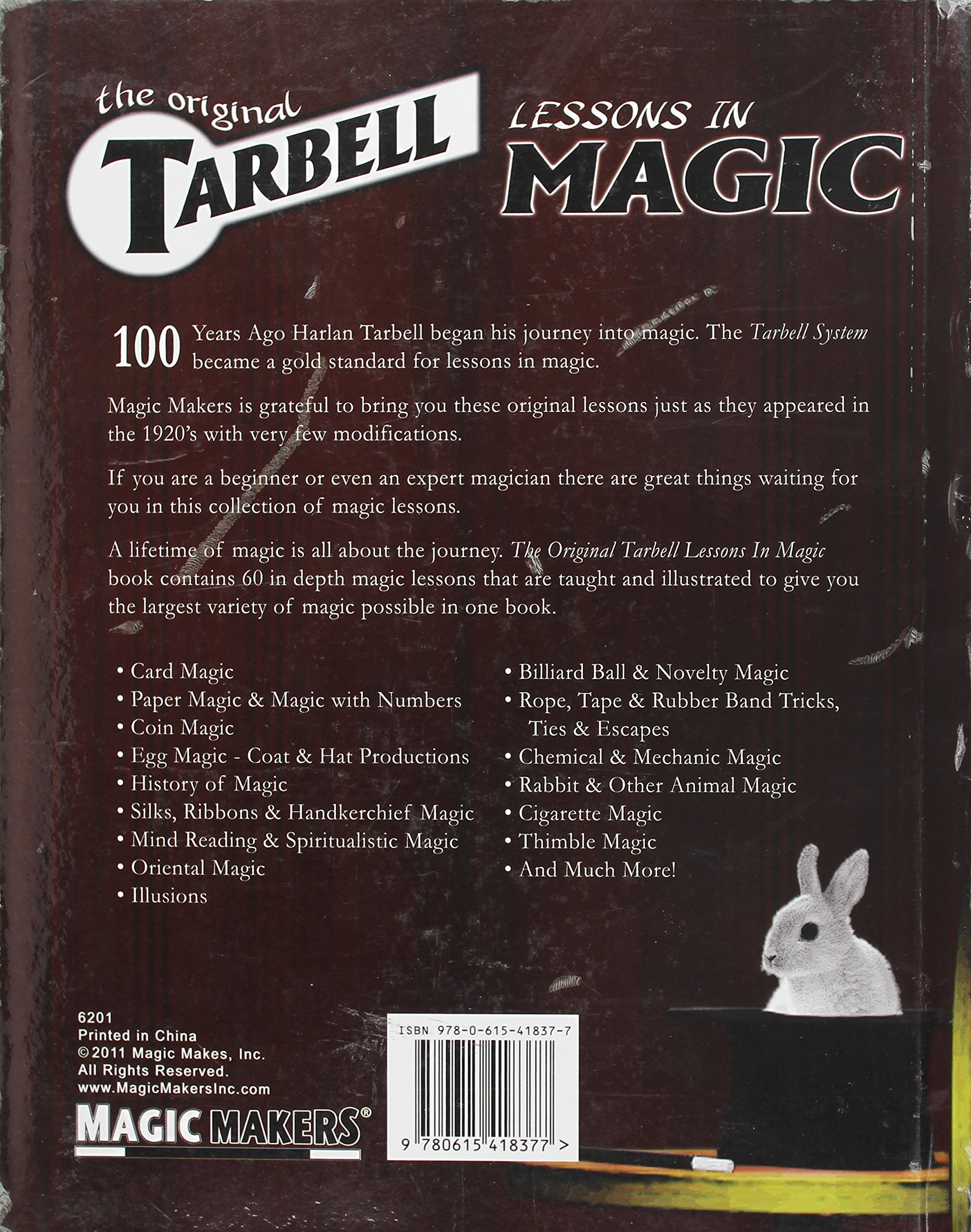 The Original Tarbell Lessons - Course In Magic: Magic Makers ...
