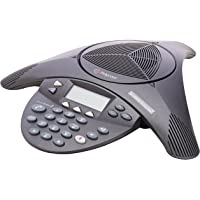 Polycom SoundStation 2 Non Expandable Analog Conference Phone (2200-16000-001) (Renewed)