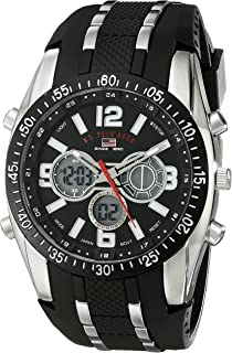 amazon com u s polo assn sport men s us9061 watch black u s polo assn sport men s us9281 sport watch