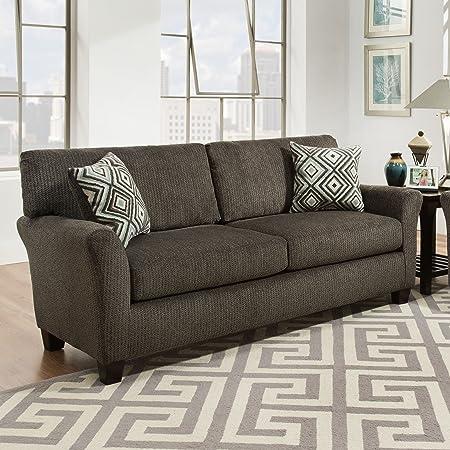 SoFab Fifth Avenue Charcoal Sofa
