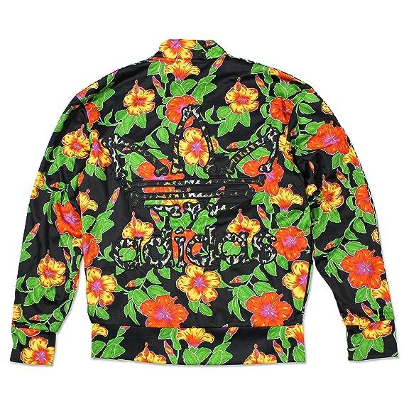 Adidas Originals ObyO Jeremy Scott JS Flower Hueso TT Chaqueta Deportiva Hombre - translation, original, translation, original, negro / multicolor, ...