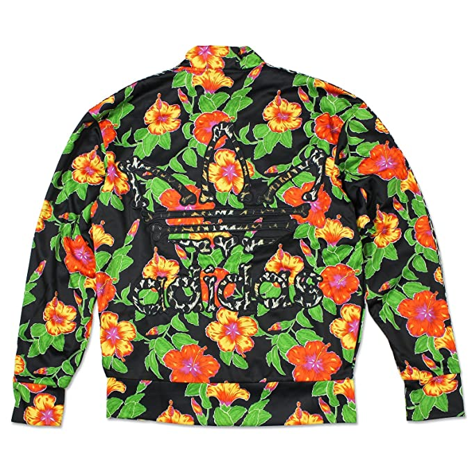 844e9139805f Adidas Originals ObyO Jeremy Scott JS Flower Bone TT Sports Jacket Men s   Amazon.co.uk  Sports   Outdoors