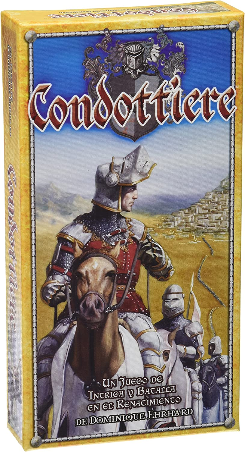 Edge Entertainment - Condottiere, juego de cartas (EDGFF04): Ehrhard, Dominique: Amazon.es: Juguetes y juegos