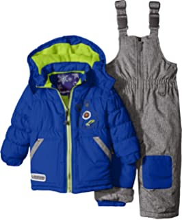 d4ab2914bb34 Amazon.com  Rugged Bear Baby Boys  AO Plaid Snowsuit