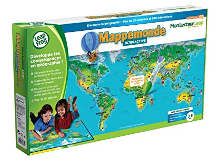 Carte Du Monde Interactive.Buy Leapfrog Mappemonde Interactive Lecteur Non Inclus