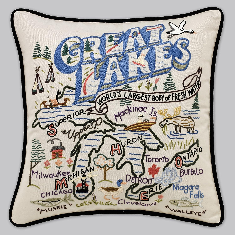 GREAT LAKES手刺繍枕 ndash; Catstudio  B000E3XT3I
