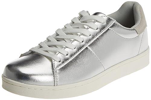 Springfield 5.G.Sneaker BS Plata, Zapatillas para Mujer, Gris (Grey), 41 EU: Amazon.es: Zapatos y complementos
