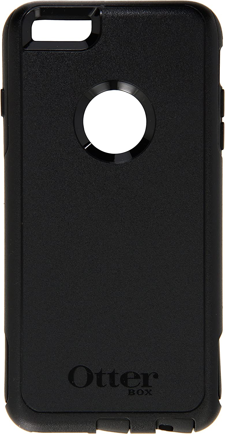 OtterBox COMMUTER SERIES Case for iPhone 6 PLUS/6s PLUS - Retail Packaging - BLACK