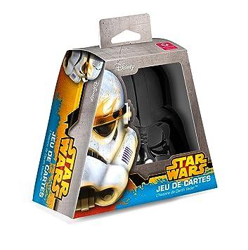 Cartamundi 100149107 Star Wars-Máscara De Darth Vader-Juego De Cartas 54 Unidades: Amazon.es: Juguetes y juegos