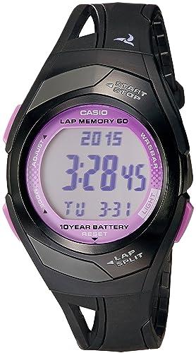 Casio STR-300-1C - Reloj (Reloj de Pulsera, Polímero, Negro