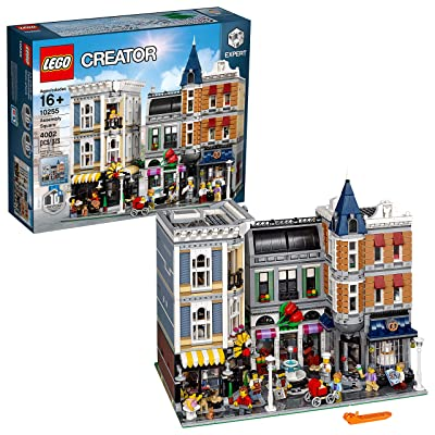 LEGO Creator Expert Assembly Square 10255 Building Kit (4002 Pieces): Toys & Games