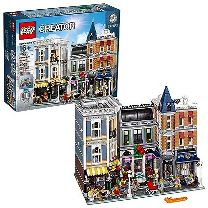 Amazoncom Lego Creator Expert Assembly Square 10255 Building Kit