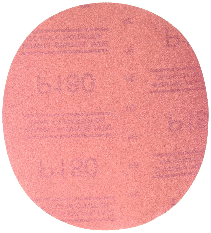 3M 01224 Hookit Red 6' P120 Grit Abrasive Disc