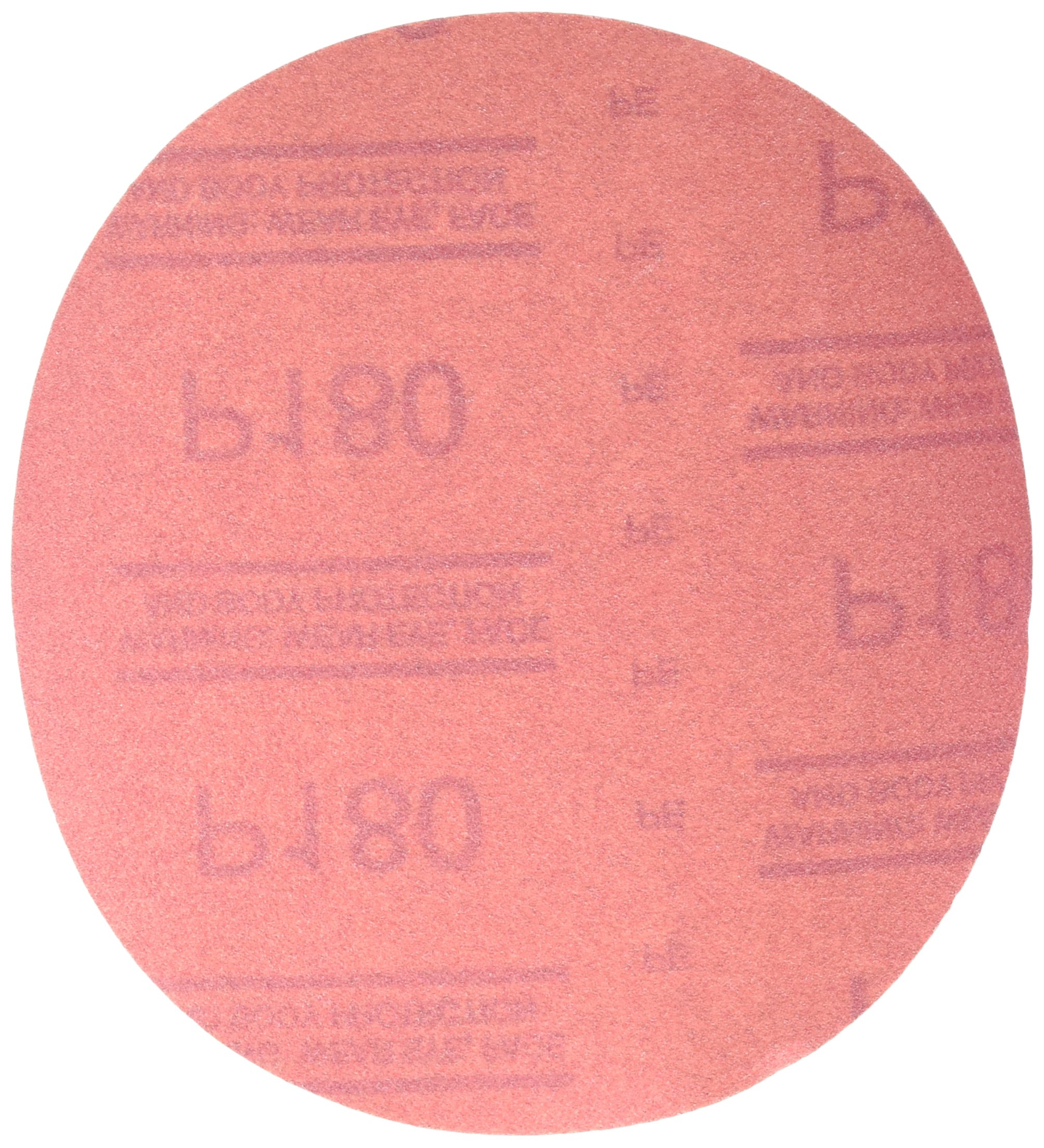 3M 01222 Hookit Red 6'' P180 Grit Abrasive Disc