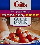 Gits Instant Gulab Jamun Dessert Mix, 200g + 100g Extra