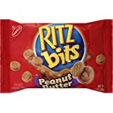 Ritz Bits Peanut Butter Crackers, 1 Ounce (Pack of 12)
