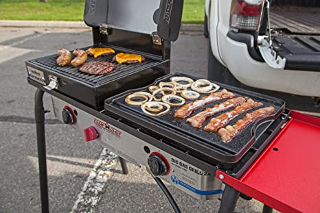 Amazon.com: Camp Chef Big Gas Grill 2 quemador de cocina de ...