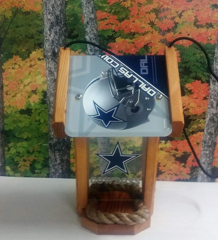 Dallas Cowboys Two-sided Cedar Bird Feeder