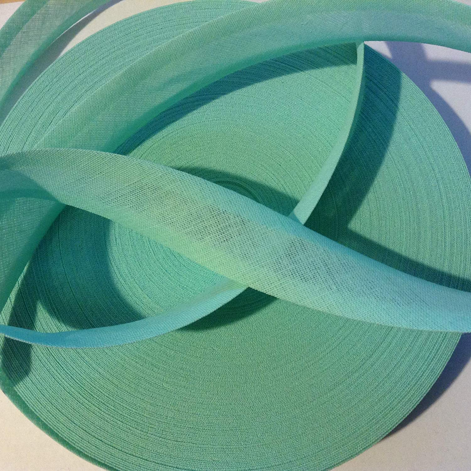 Crafting 2m x 25mm Pale Green bias Binding which Would be Ideal for Sewing Scrapbooking and All Those Other Projects.Incomplete
