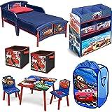 Amazon.com: Disney Pixar Cars 3-Piece Room in a Box toddler bed ...