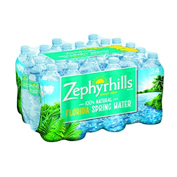 Zephyrhills 100% Natural Spring Water, 24 pk