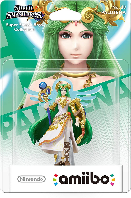Nintendo - Figura Amiibo Smash Palutena: Amazon.es: Videojuegos