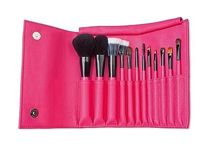 Dermacol Estuche de 12 Brochas de Maquillaje - 5 gr: Amazon ...