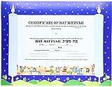 Bat Mitzvah Egal.& Envelopes Packs of 5