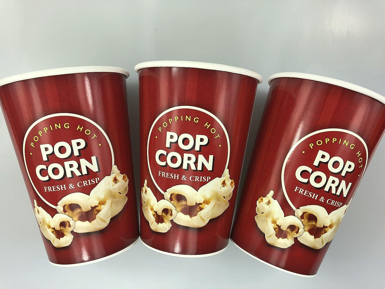 10Stück Zylinderschrauben mit Popcorn Boxen/Tubs–Kleine 46oz Gute Qualität Solider Telefonhalterung