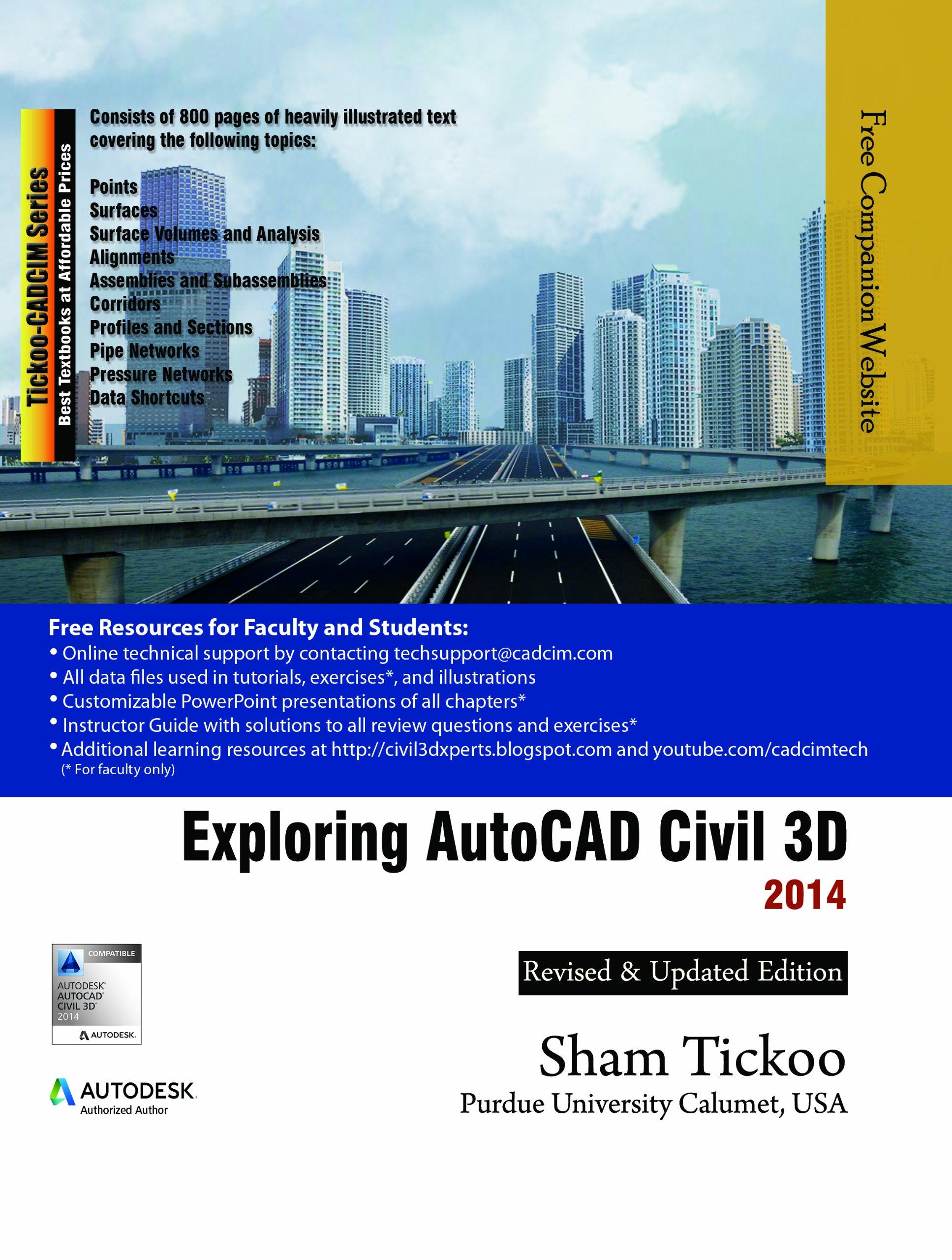 Exploring AutoCAD Civil 3D 2014 ebook