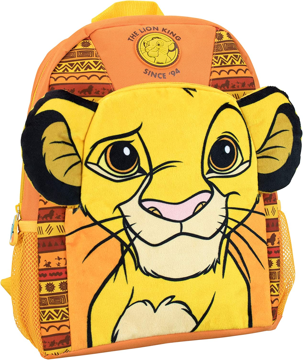 Student Backpack or Adults Stylish Bookbag or Lunch Backpack for Children Unisex Campus Backpack with Padded Shoulder Straps Golden Cool Lion King Backpack Teens