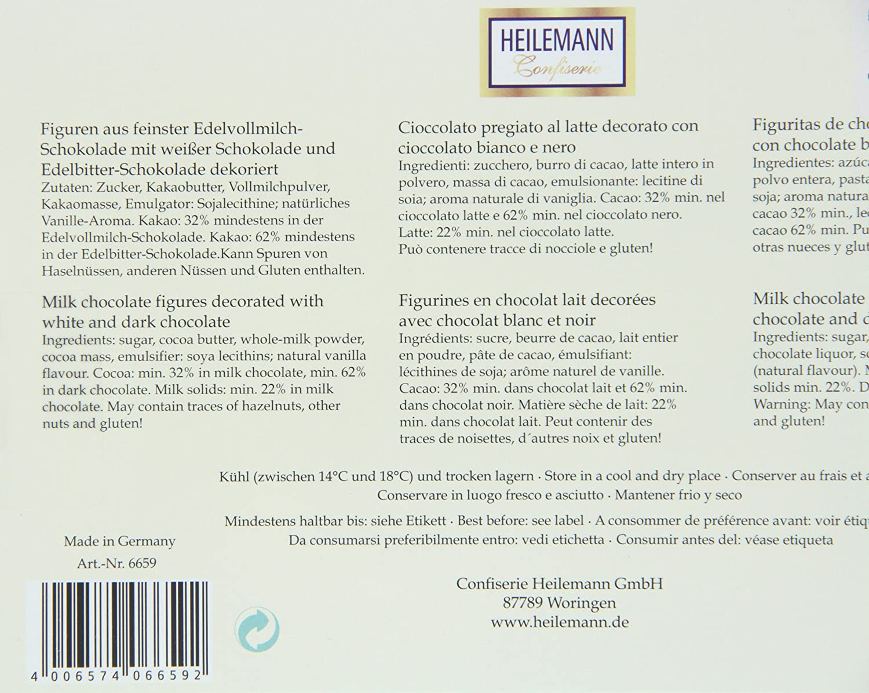 Heilemann - Set de regalo de chocolatinas - Cocina: Amazon.es: Alimentación y bebidas