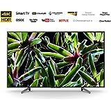 تلفزيون سوني ذكي قياس 65 بوصة بدقة 4 كيه ومدى ديناميكي عالٍ KD-65X7000G (2019)