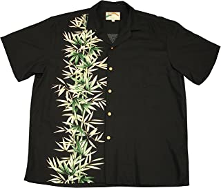 product image for Paradise Found Mens Bamboo Panel 2015 Shirt Black XL