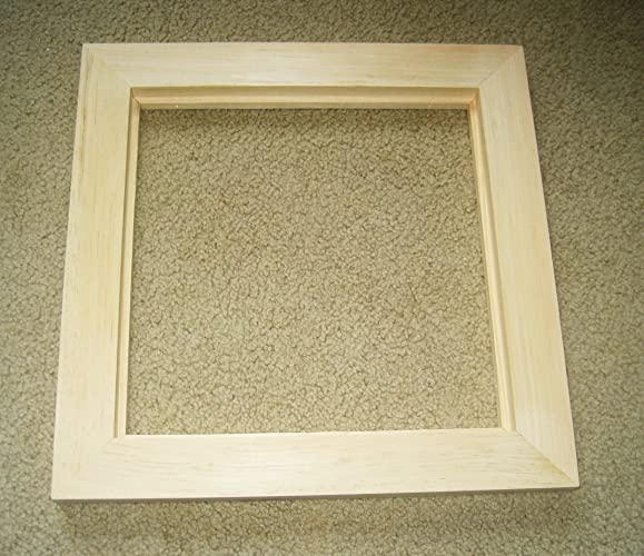 Amazon Wide Float Frames For Canvases Unfinished Wood U