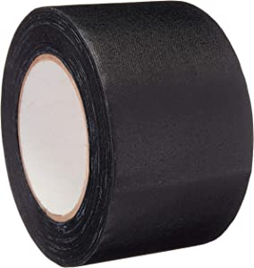 AmazonBasics No Residue, Non-Reflective Gaffers Tape - 3 Inch x 90 Feet, Black