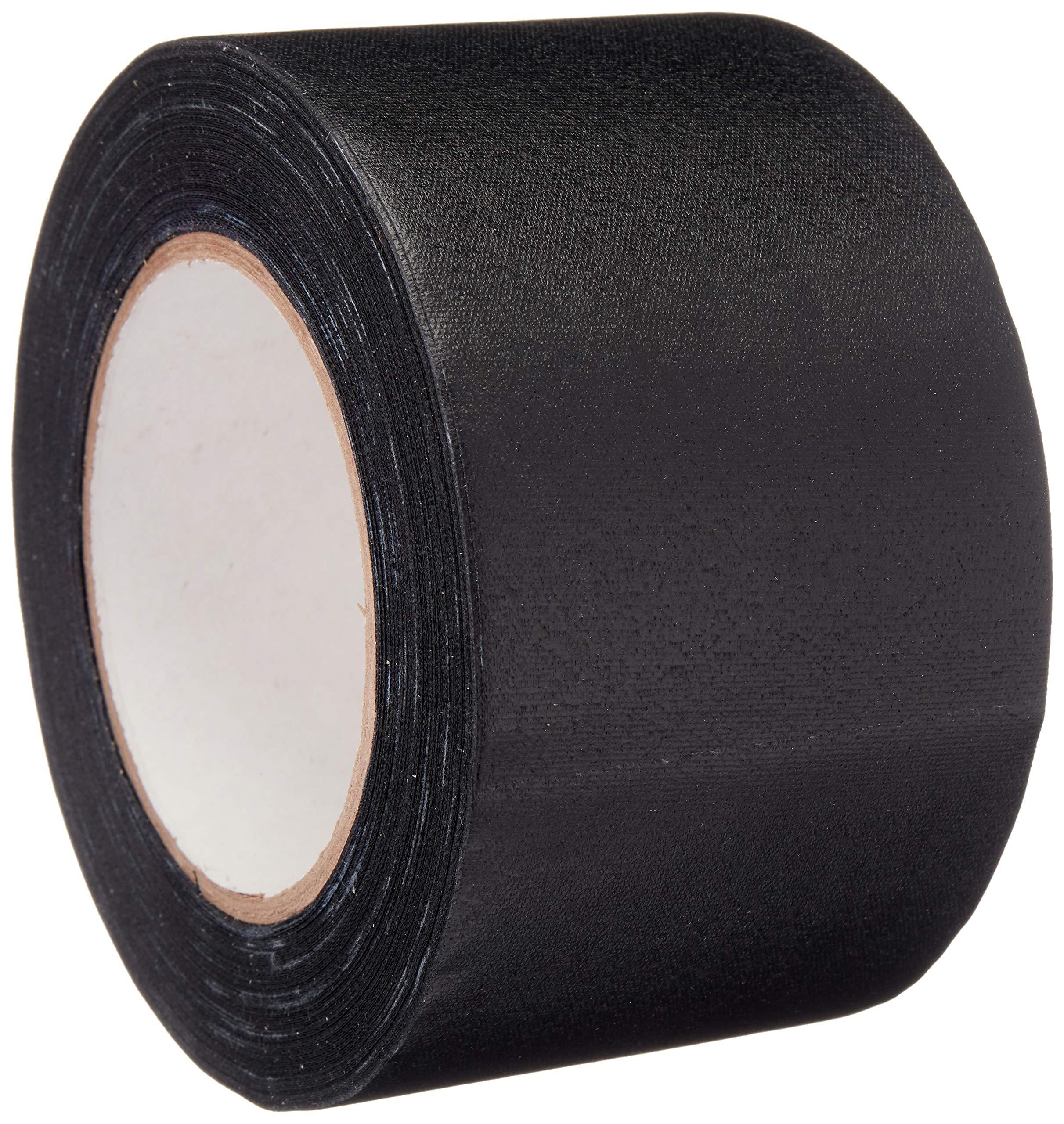 Amazon Basics No Residue, Non-Reflective Gaffers Tape - 3 Inch x 90 Feet, Black